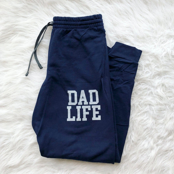 Dad Life Joggers • Navy