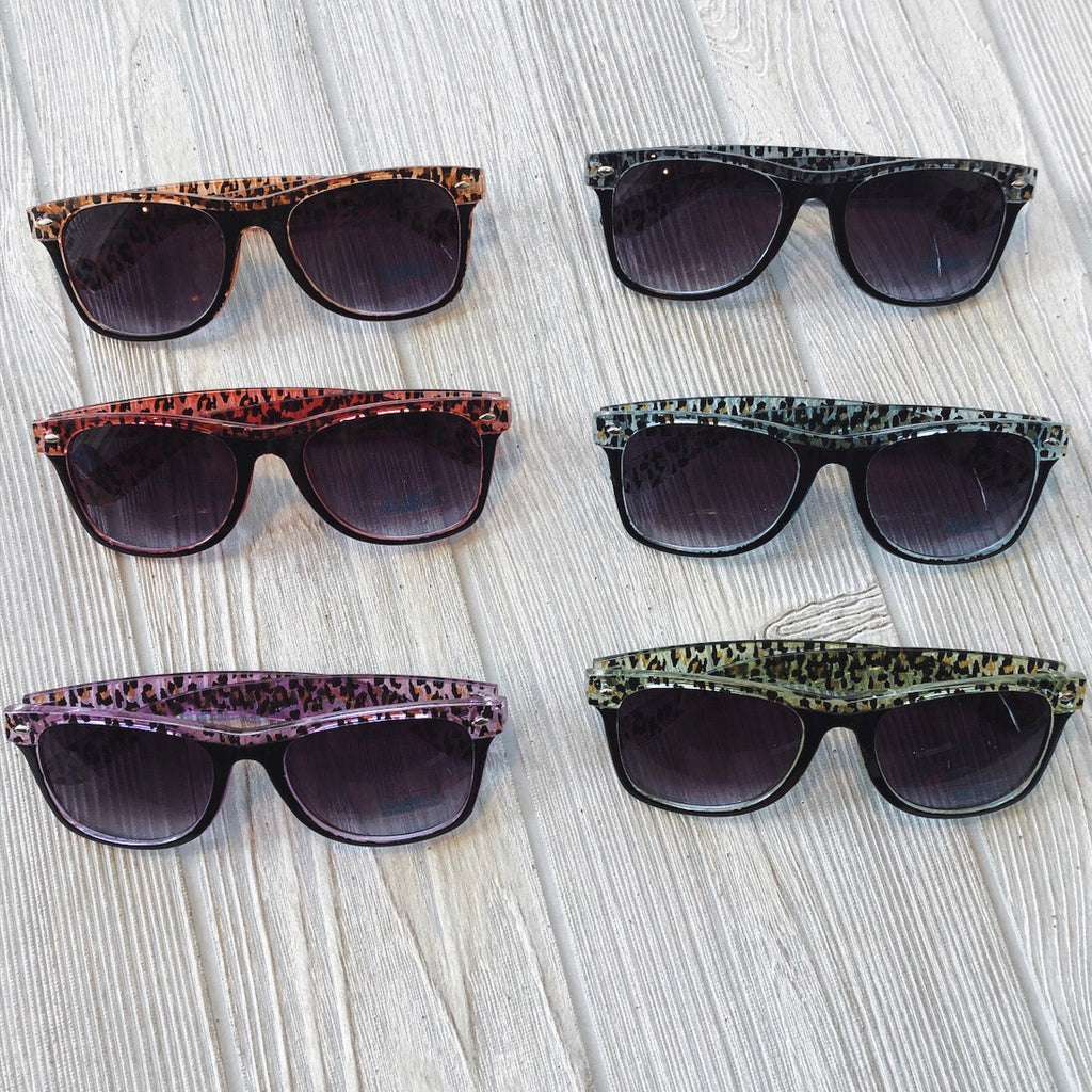 Leopard Sunnies • Adult
