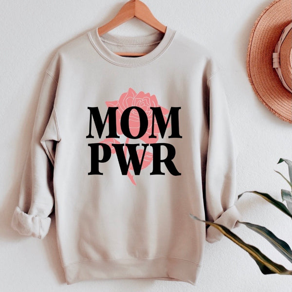 MOM PWR • Sand Pullover
