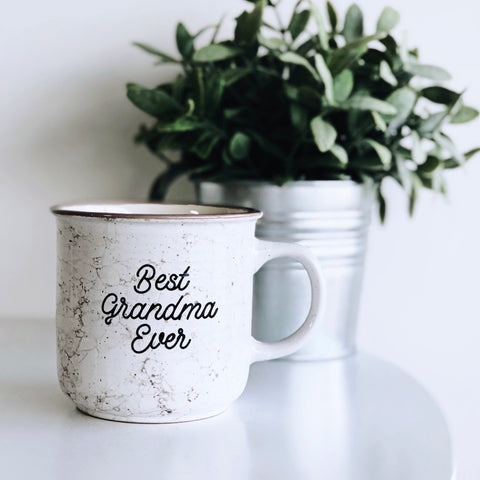 Best Grandma Ever • Campfire Ceramic Mug
