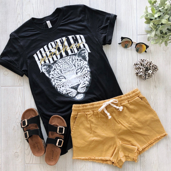 Hustler Cheetah Face • Tee