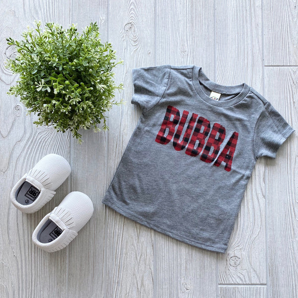 Bubba Plaid • Tee Shirt