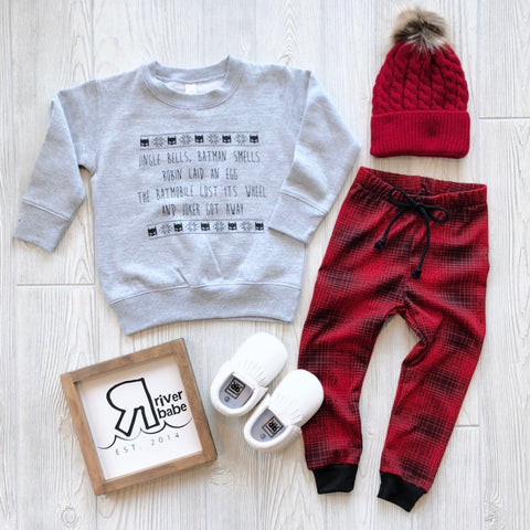 Jingle Bells Pullover • Kids