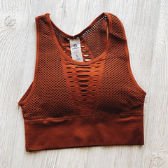 Grated Sports Bra • More Colors!