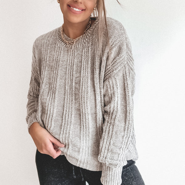 Chenille Sweater • More Colors!