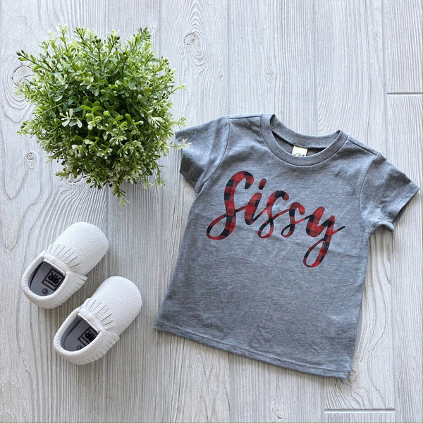 Sissy Plaid • Tee Shirt