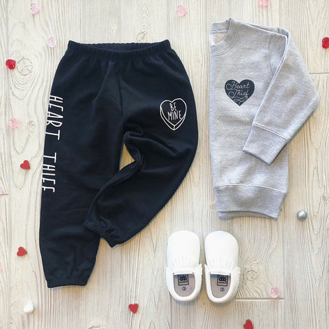 Heart Thief Sweatpants • Black