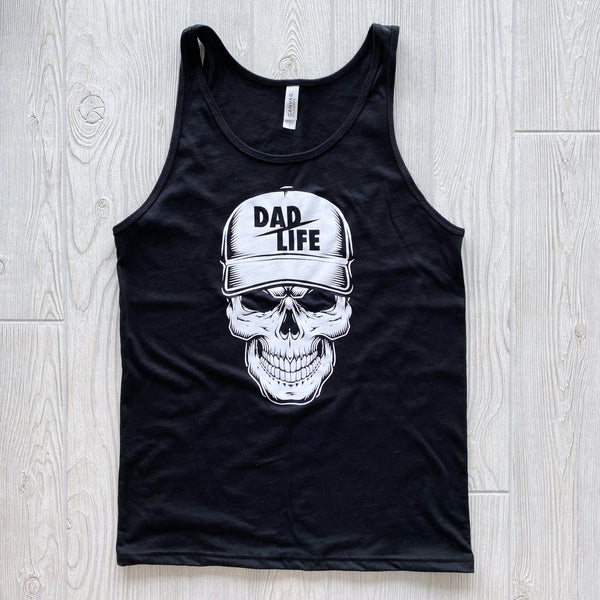Skeleton Dad • Black Tank