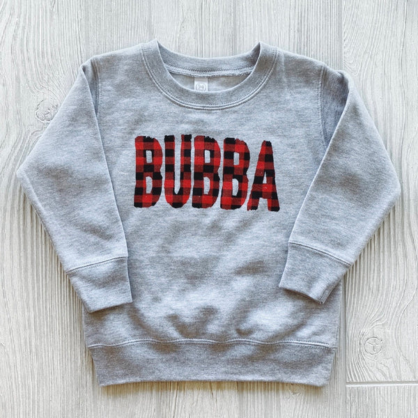 Bubba Plaid • Pullover