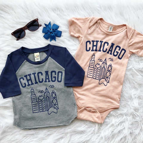 Chicago • Raglan/Onesie