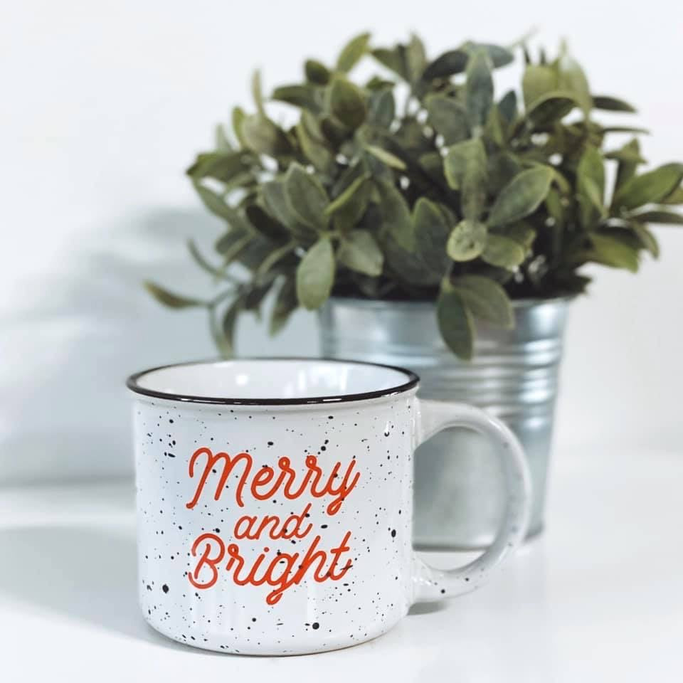 Merry & Bright • Campfire Ceramic Mug