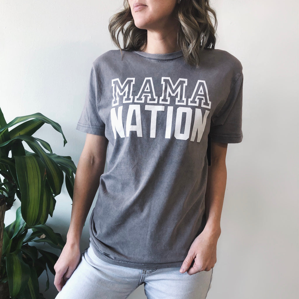Mama Nation • Rocker Tee