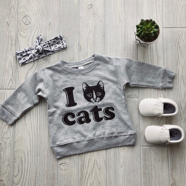 I Love Cats • Pullover