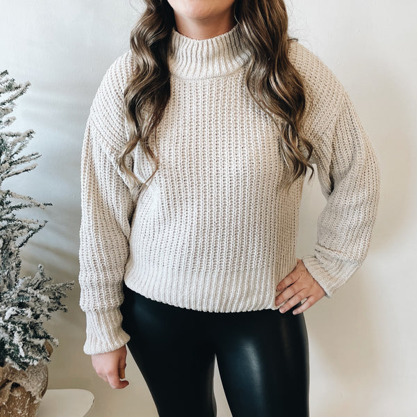 Charlotte Sweater • Oatmeal
