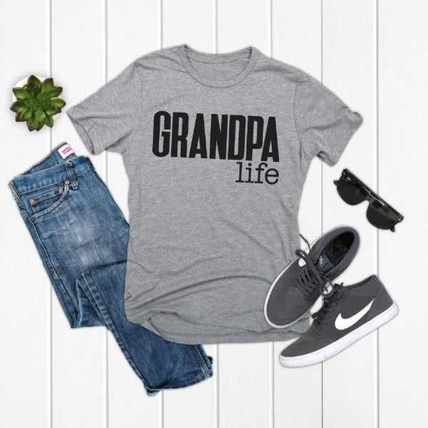 Grandpa Life • Blue or Gray