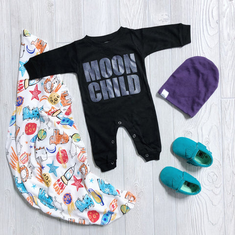 Moon Child • Long Sleeve Onesie