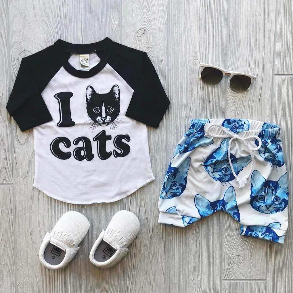 Cats! • Harem Shorts