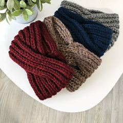 Twisted Knit Headband • Adult