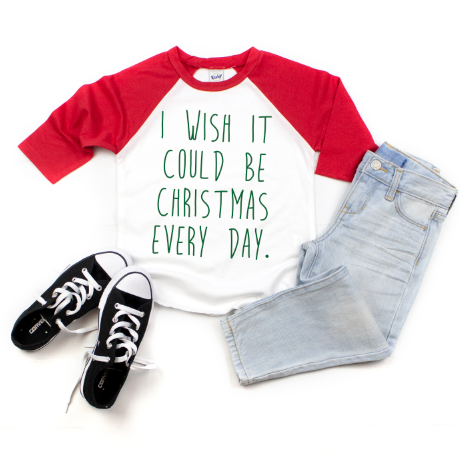 Christmas Wish • Raglan
