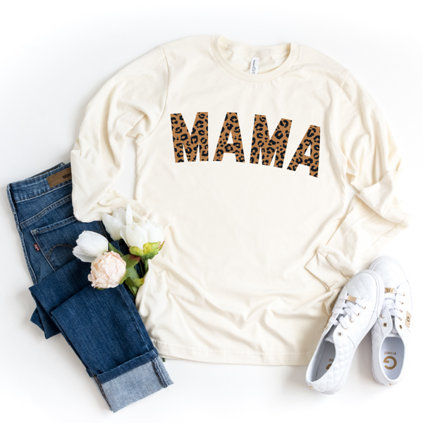 MAMA Cheetah • Long Sleeved