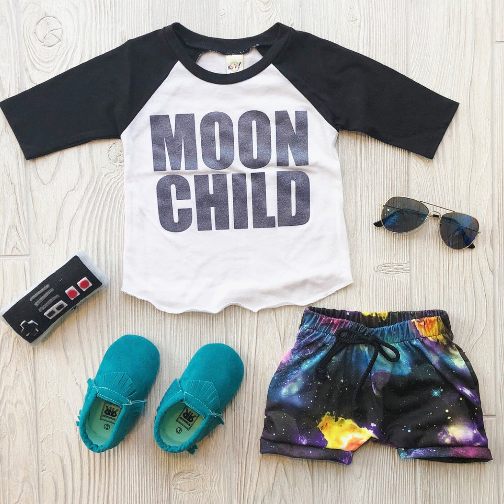Moon Child Raglan