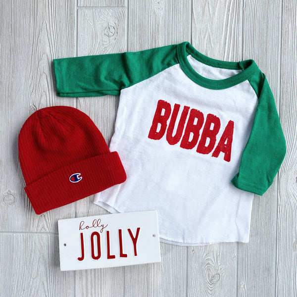 Bubba Holiday Raglan