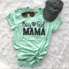 Girl & Boy Mom • Tee