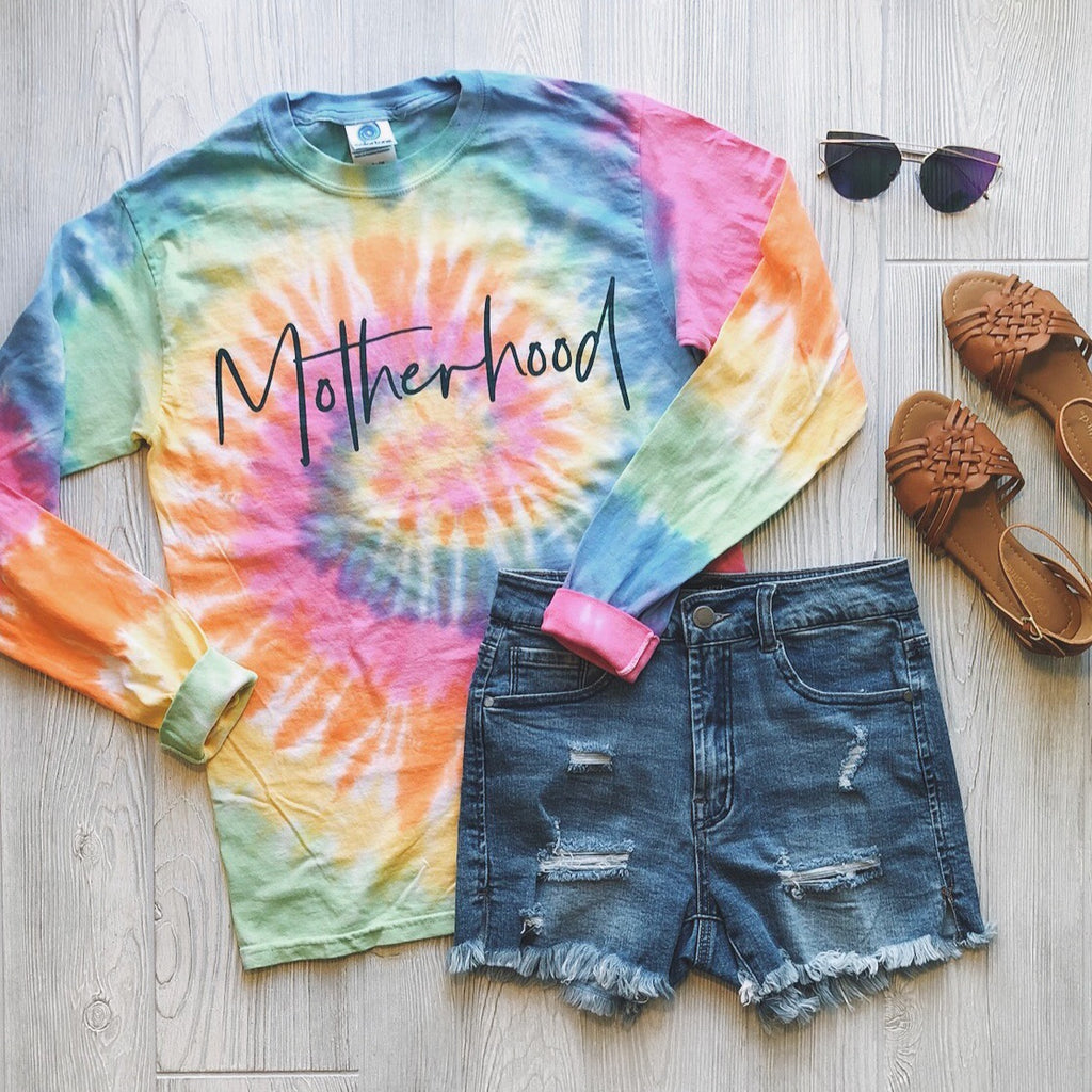Motherhood • Longsleeve Tie-Dye