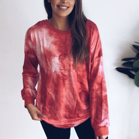 Tie Dye Lounge Pullover • More colors!