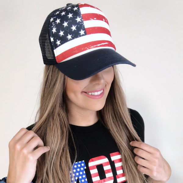 Flag Trucker Cap