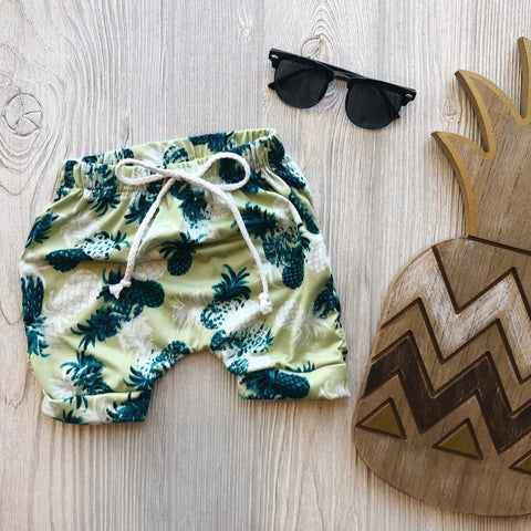 Lime Pineapples • Shorts