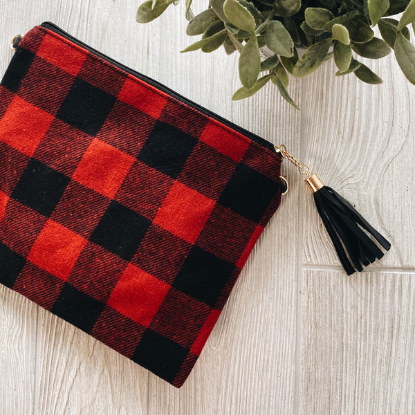 Buffalo Plaid • Crossbody/Clutch