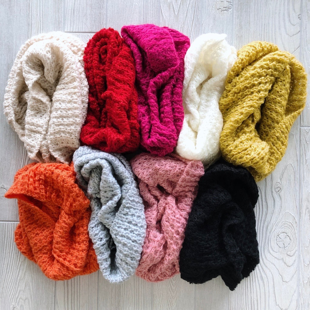 Funnel Knit • Scarves