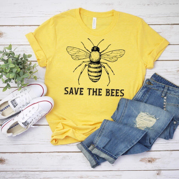 Save the Bees • Adult Tee