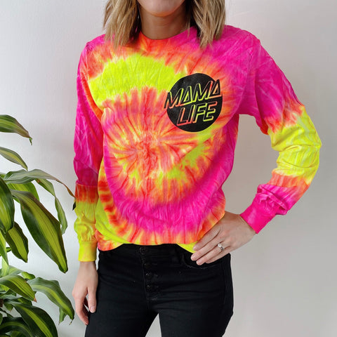 Skater Mama • Fluorescent Long Sleeve