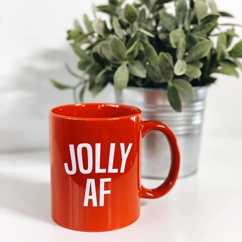 Jolly AF (and fun) • Mug