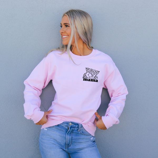 Rose Mama • Pink Pullover