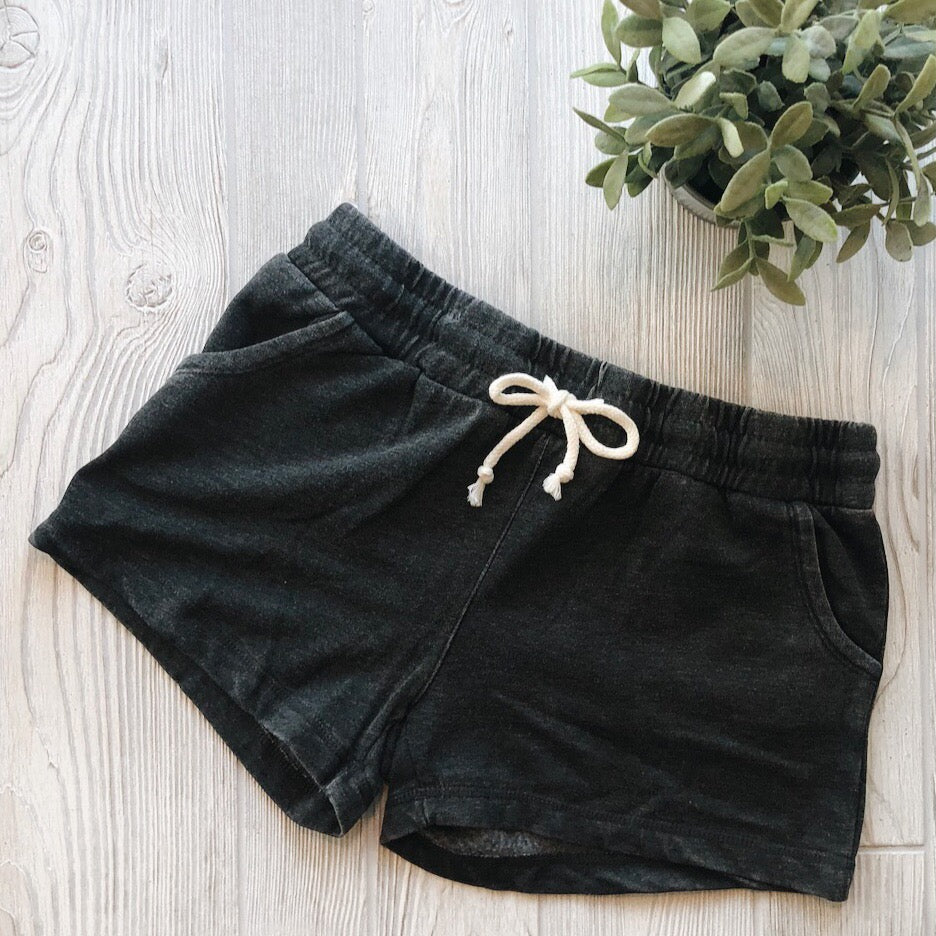 Vintage Charcoal Shorts