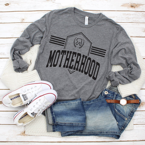 Motherhood Collegiate • Long Sleeved