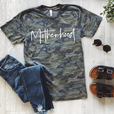 Motherhood • Vintage Camo Tee