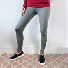 Basic Sage Leggings • 6168