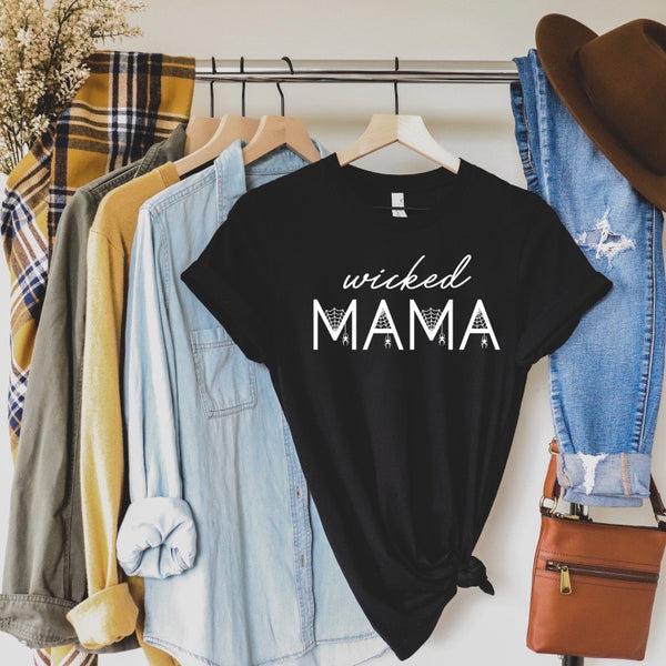 Wicked Mama • Black Tee