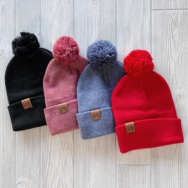 Fold Over Beanie • More Colors!