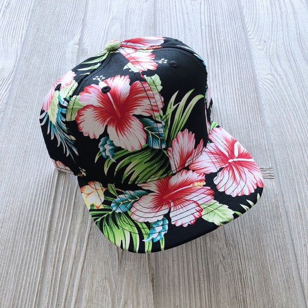 Dark Hawaiian Kids Snapback • More Sizes!