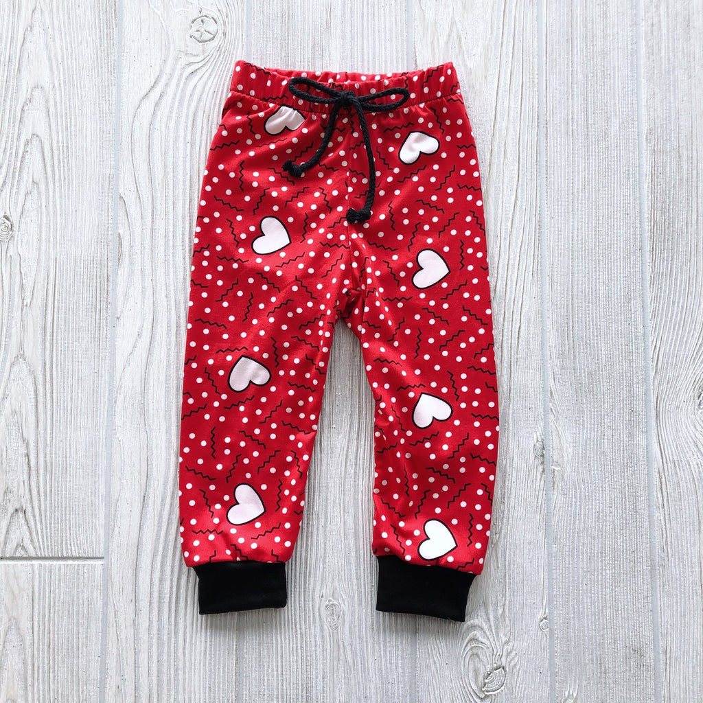 Red Heart Joggers
