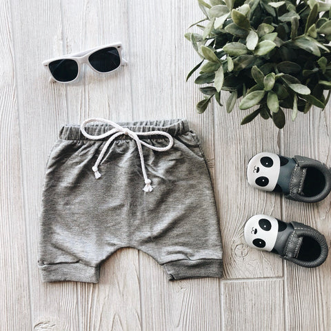 Basic Gray Shorts • Harem