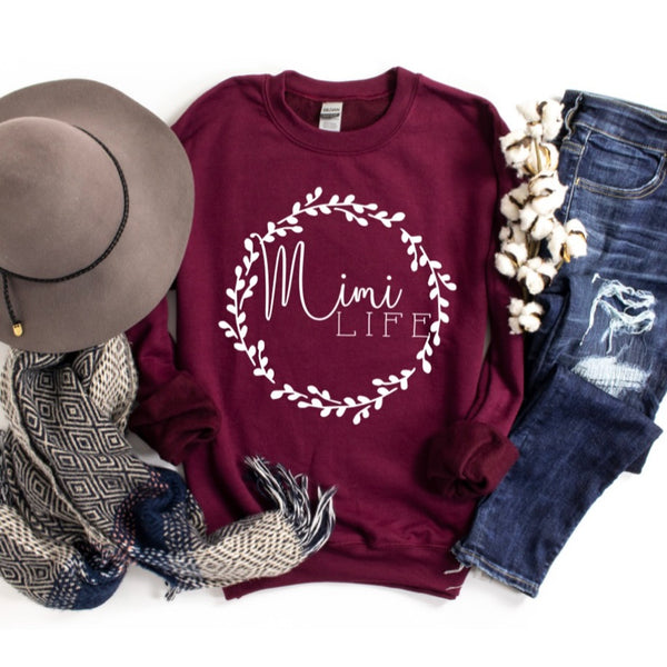 Mimi Wreath • Tee or Pullover