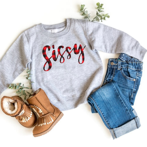 Sissy Plaid • Tee or Pullover