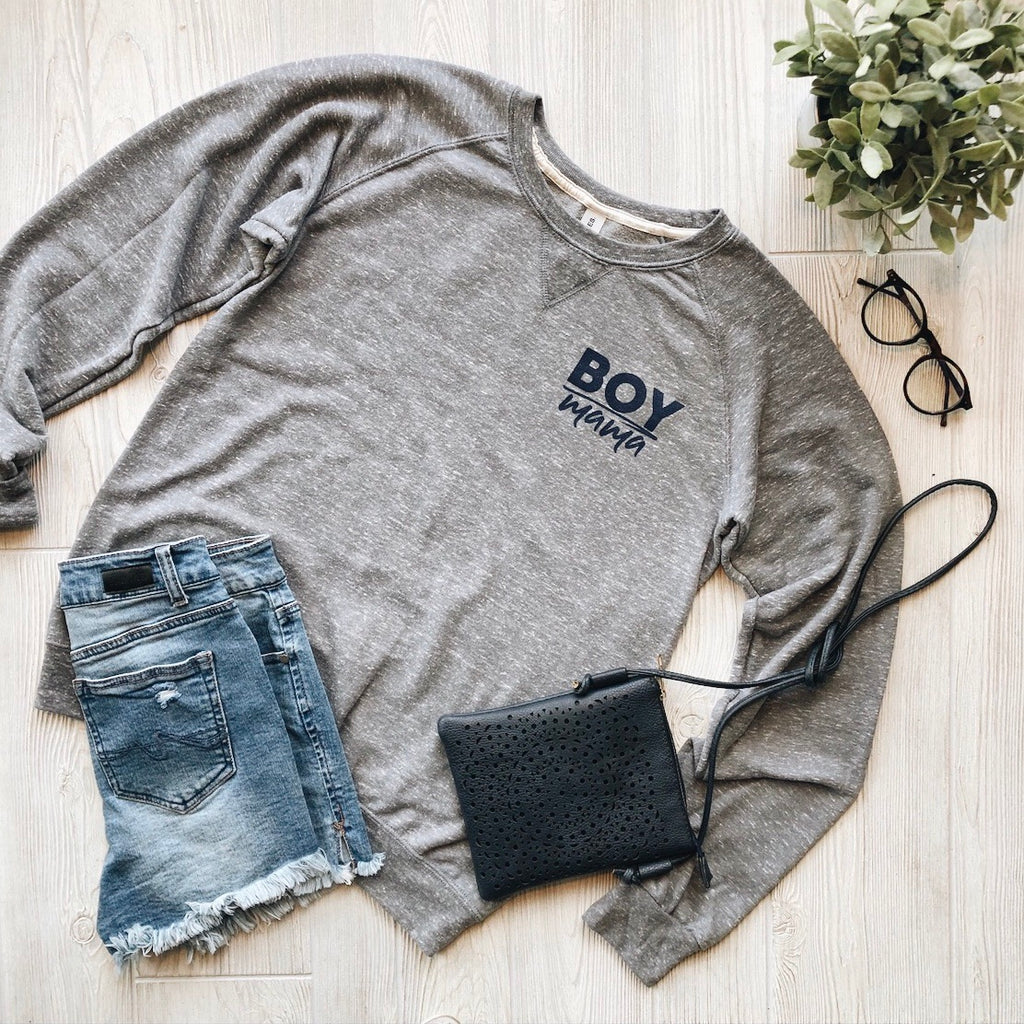 Boy Mama • Terry Pullover