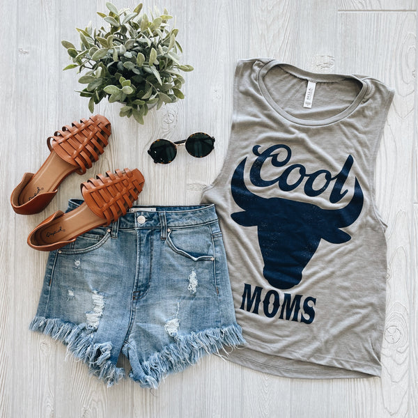Cool Moms • Stone Scooped Tank